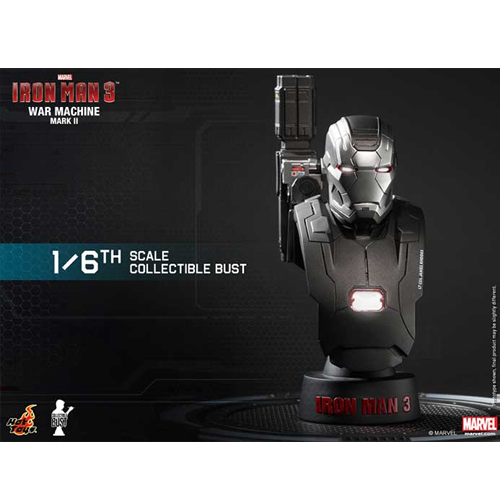 Iron Man 3: 1/6th scale Collectible Bust Series-워머신마크투