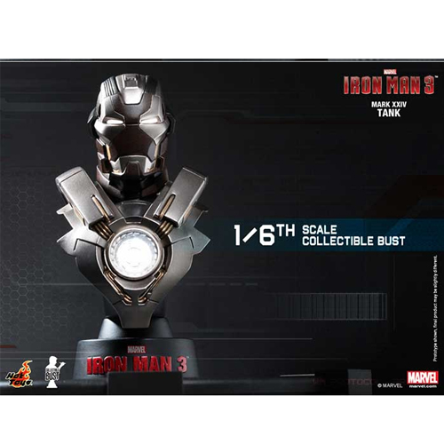 Iron Man 3: 1/6th scale Collectible Bust Series-아이언마크24 탱크