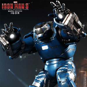 MMS215 Iron Man 3: 1/6th scale Igor (Mark XXXVIII) Limited Edition Collectible Figure