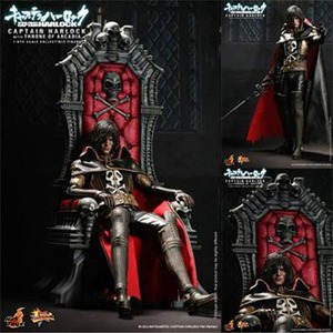 [핫토이]1/6 MM#223 Space Pirate Captain Harlock [With Throne of Arcadia] [홍콩판]