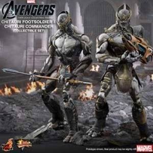 The Avengers: 1/6th scale Chitauri Footsoldier and Chitauri Commander Collectible Figures Set [1385111091]