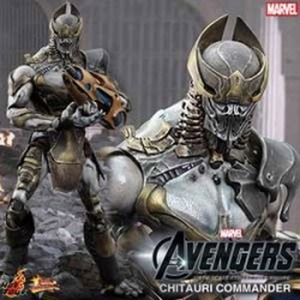 The Avengers: 1/6th scale Chitauri Commander Collectible Figure [1385110994]