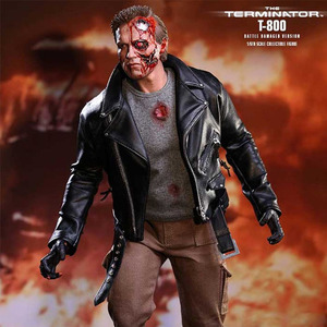 The Terminator T-800 (Battle Damaged Version) 1/6th scale Collectible Figure