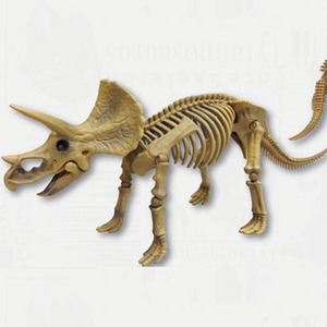 포즈스켈레톤 공룡 시리즈 102 트리케라톱스  [4521121300801]