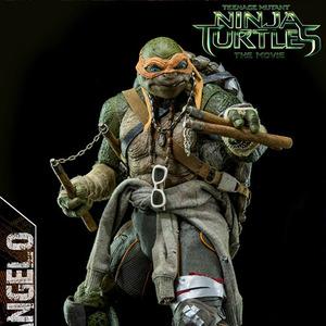 ThreeZero:1/6 - Teenage Mutant Ninja Turtles 2014(닌자거북이) - 미켈란젤로 [15년3분기발매예정]