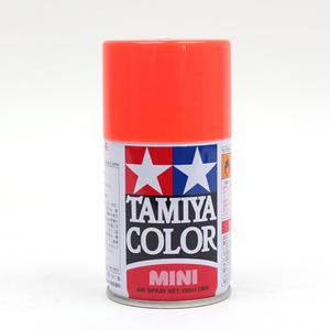 [TS-36] TAMIYA 스프레이(캔) FLUORESCENT RED 형광 레드 [4950344993789]
