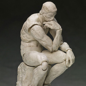 [피그마] SP-056b 테이블 미술관 생각하는 사람 석고Ver  [4571245295583]