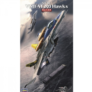 1/72 마크로스 제로 - VF-0C(단좌형델타익기) VMFAT-203 호크스  [4967834657854]