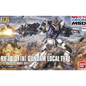 [HGGTO]1/144 RX-78-01[N] 국지형 건담 The Origin MSD Series Gundam (Local Type) [010][4573102557254]