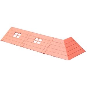 하코룸 곰의 학교 베이스 파츠 빨간 지붕 키트  [4549660153719]