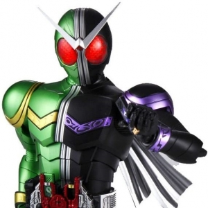 [MGF]1/8 Masked Rider W Cyclone Joker (Plastic model) 가면라이더 W사이크로 죠카[4543112644954]