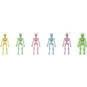 포즈스켈레톤 인간 컬러 시리즈(1박스6개입)