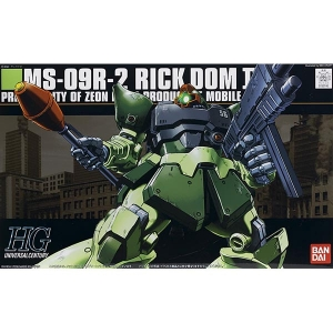 [HGUC]1/144 MS-09R-2 RICK DOM2 - 릭돔Ⅱ라이트그린버전[090][4543112557407]