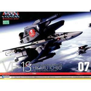 1/100 마크로스 - VF-1S 스트라이크 발키리 파이터 히카루 기  [4943209190645]