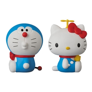 [UDF] NO.269 DORAEMON meets HELLO KITTY 도라에몽 헬로 키티  [4530956152691]