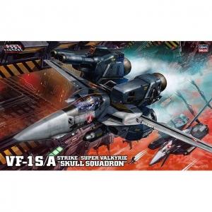 1/48 마크로스 - VF-1S/A 스트라이크/슈퍼 발키리 스컬소대  [4967834656536]
