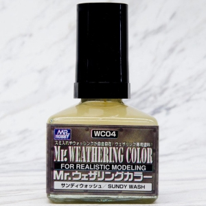 [WC04]Mr.웨더링 컬러 샌디 워시(40ml) [4973028111514]
