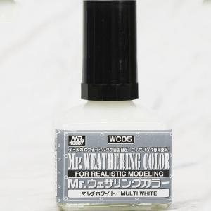 [WC05]Mr.웨더링 컬러 멀티 화이트(40ml) [4973028112153]