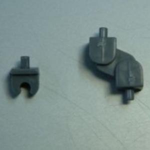 M.S.G 모델링 서포트 굿즈 ABS 유닛02 H조인트 D75R - 그레이  [4934054259663]