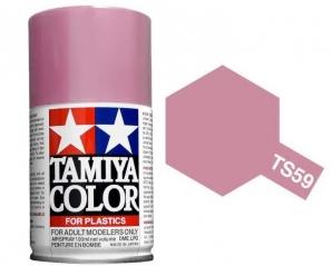 [TS-59] TAMIYA 스프레이(캔) 펄 라이트 레드 PEARL LIGHT RED (유광) [4950344994014]