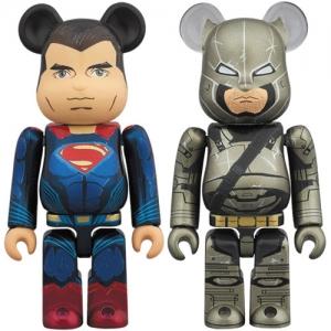 [베어브릭]BE@RBRICK 배트맨 & 슈퍼맨 저스티스의 시작(2PACK)[4530956535562]