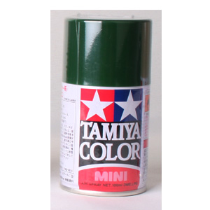 [TS-43] TAMIYA 스프레이(캔) 레이싱 그린 RACING GREEN (유광) [4950344993857]