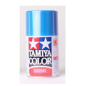 [TS-54] TAMIYA 스프레이(캔) 라이트 메탈릭 블루 LIGHT METALLIC BLUE (유광) [4950344993963]