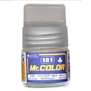 군제락카(병) No.181 Super clear Semi Gloss 수퍼 클리어 반광-기본색[4973028635850]