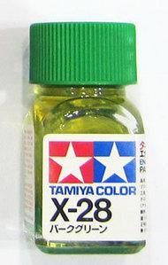 [타미야][에나멜도료 X-28] 파크 그린 (유광) [45135279]