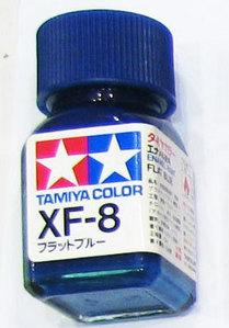 [타미야][에나멜도료 XF-8] 플랫 블루 (무광) [45135392]