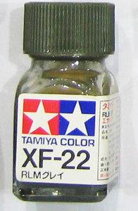 [타미야][에나멜도료 XF-22] RLM 그레이 (무광) [45135538]