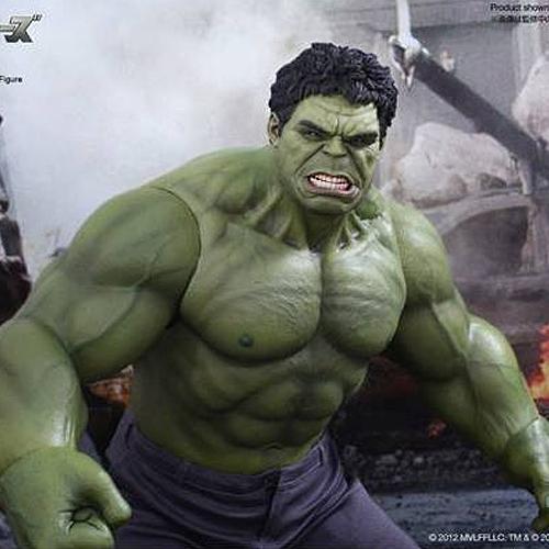 [핫토이]1/6 무비 마스터피스 The Avengers - Hulk(홍콩내수판)[4897011174723]