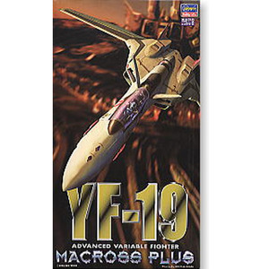 1/72 마크로스 플러스 - YF-19  [4967834657090]