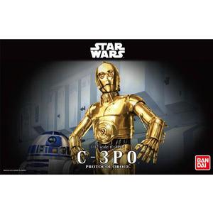 반다이프라모델 스타워즈 1/12 C-3PO  [4543112964182]