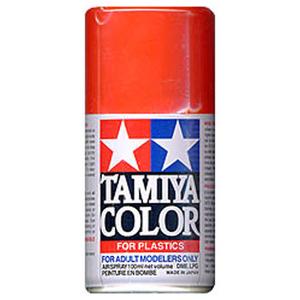 [TS-49] TAMIYA 스프레이(캔) 브라이트 레드 BRIGHT RED (유광) [4950344993918]
