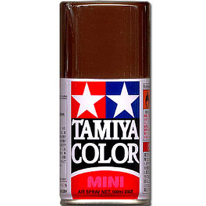 [TS-69] TAMIYA 스프레이(캔) 리놀리엄 덱크 브라운 LINOLEUM DECK BROWN (무광) [4950344994113]